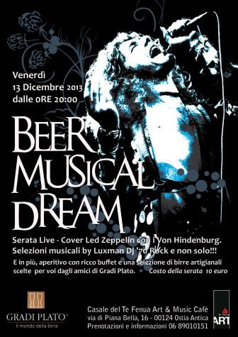 Degustazione birre Gradi Plato - Beer musical dream