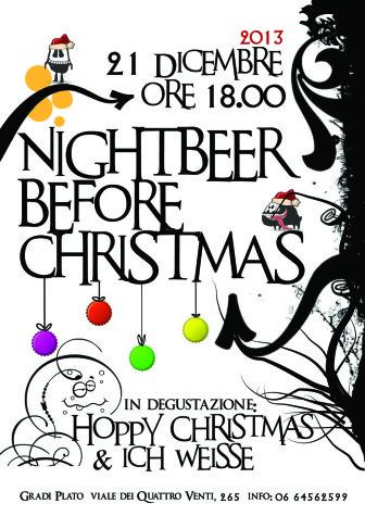 Degustazione birre Gradi Plato - Nightbeer before Christmas