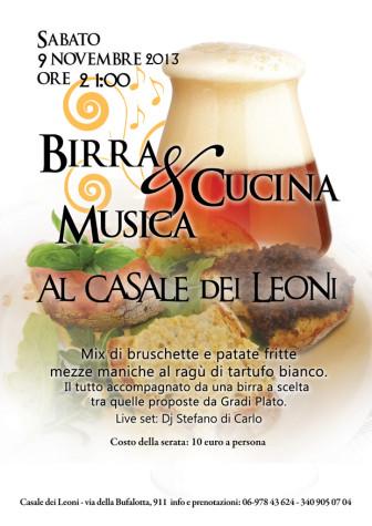 Degustazione birre Gradi Plato - Al casale dei leoni